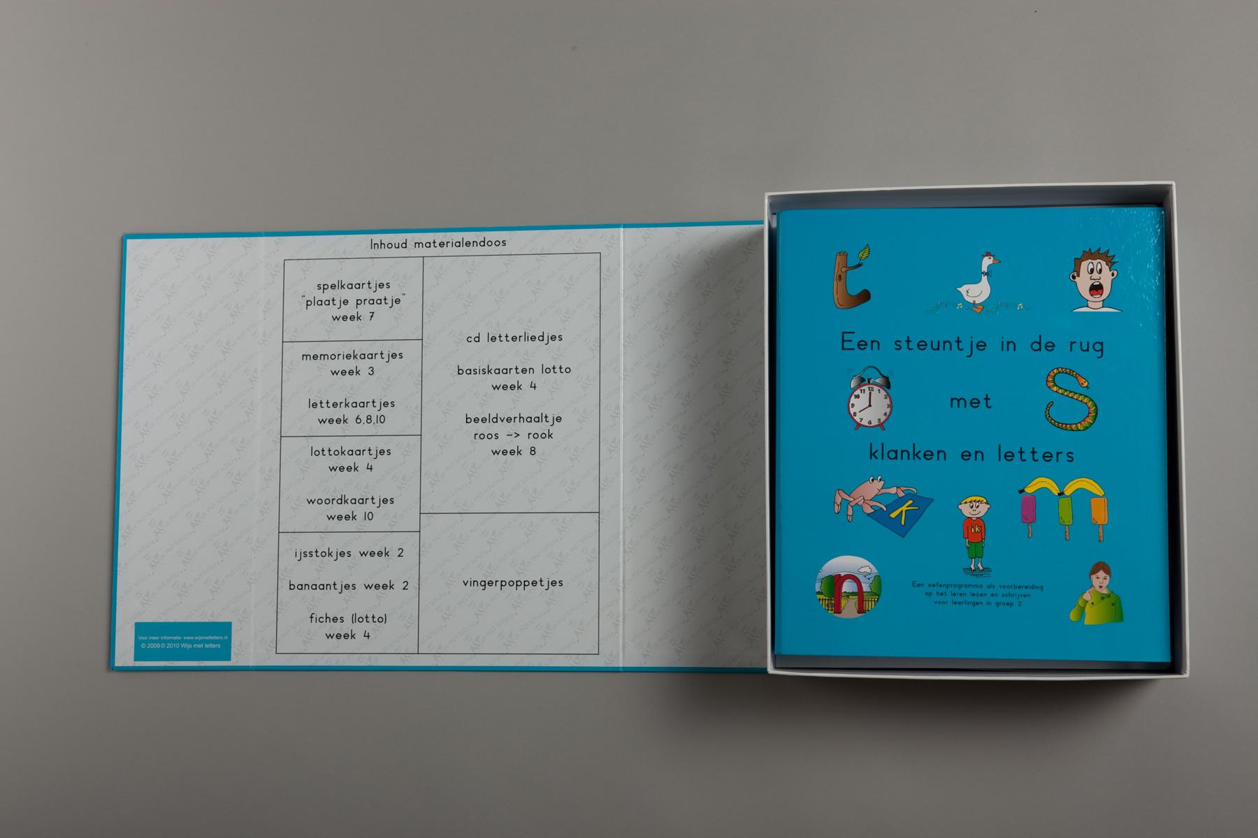 Spel 'Wijzer met klanken en letters'